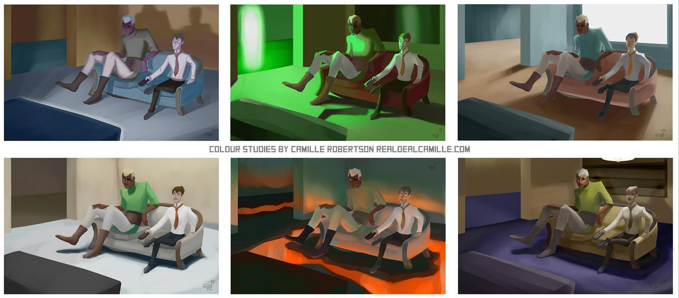 Colour Study 2 by ProfessorParsec