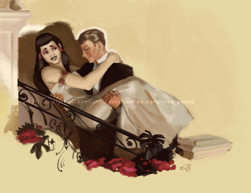 Painterly Couple by ProfessorParsec