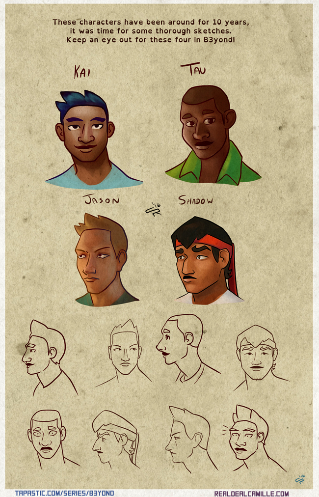 B3yond: The Boys by ProfessorParsec