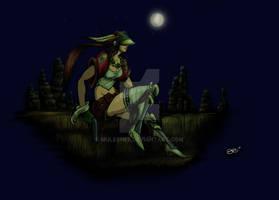 Midnight on Zorja VII