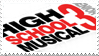 High School Musical 3 Stamp by DumblyDoor