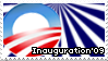 Obama - Inauguration 09 Stamp by DumblyDoor