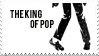 MJ - The King of Pop Stamp by DumblyDoor