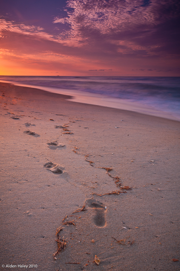 Footprints by amhaley