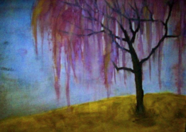 bleeding purple tree. by Ashlinfay on DeviantArt
