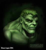 Hulk Coloured