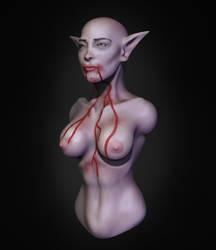 Random Female Character Bust