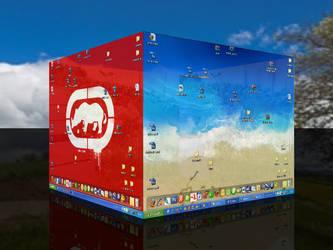 Desktop 3D by marchezetti