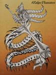 Worm Knight - Art Trade