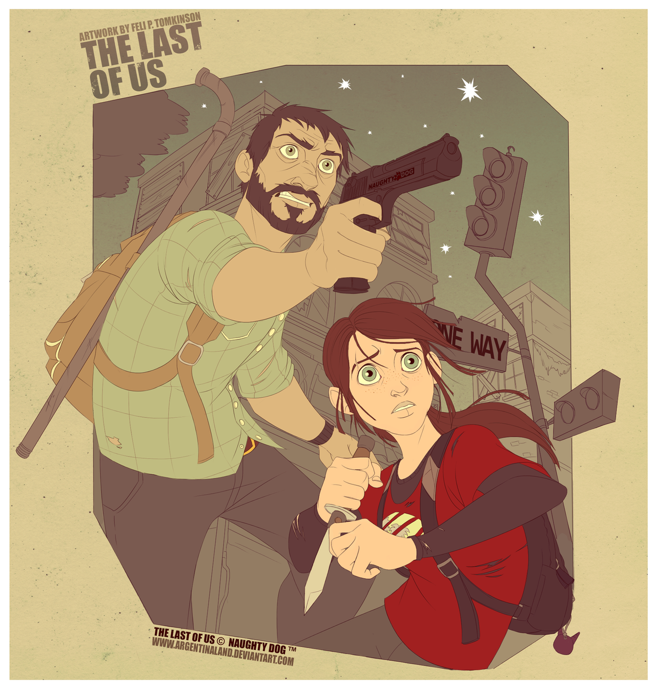 The Last Of Us by felitomkinson