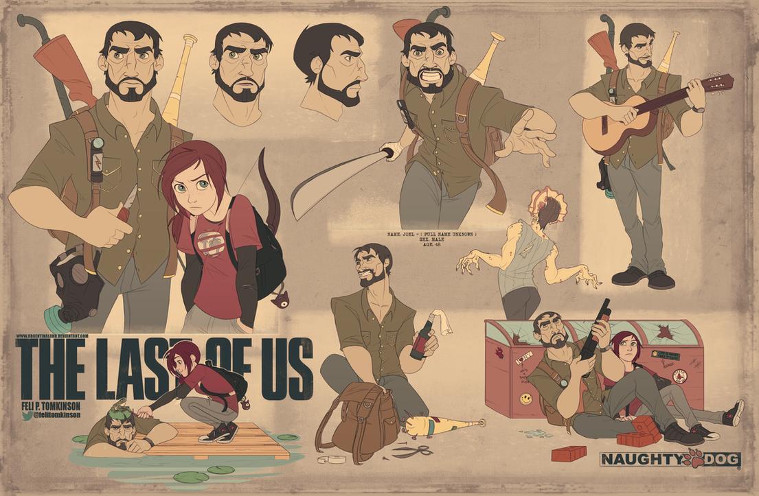 The Last Of Us - Joel by felitomkinson on DeviantArt