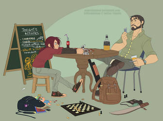 Texas Hold 'Em by felitomkinson
