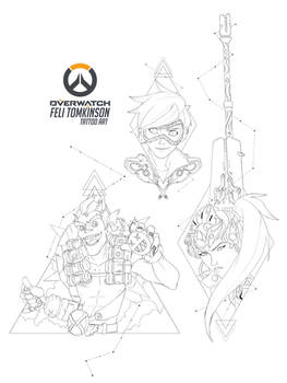 Overwatch Tattoo Commissions