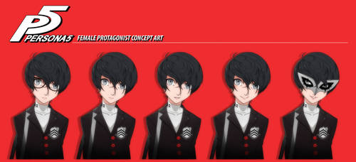 Persona 5 Female Protagonist REVAMPED
