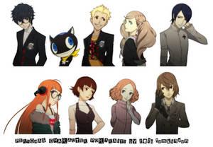 Persona 5 Character Portraits