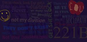 Sherlock Collage