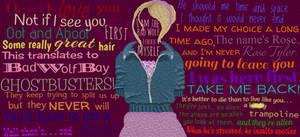 Rose Tyler Collage