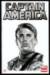 CAPTAIN AMERICA Sketch Cover 1