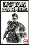 CAPTAIN AMERICA Sketch Cover 2