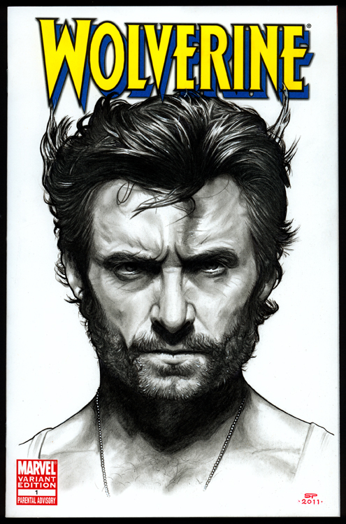 WOLVERINE Sketch Cover by S-von-P