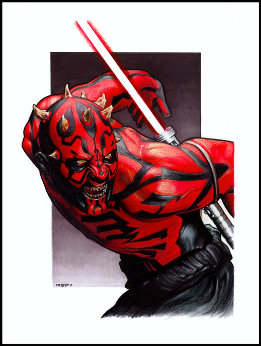 DARTH MAUL by S-von-P