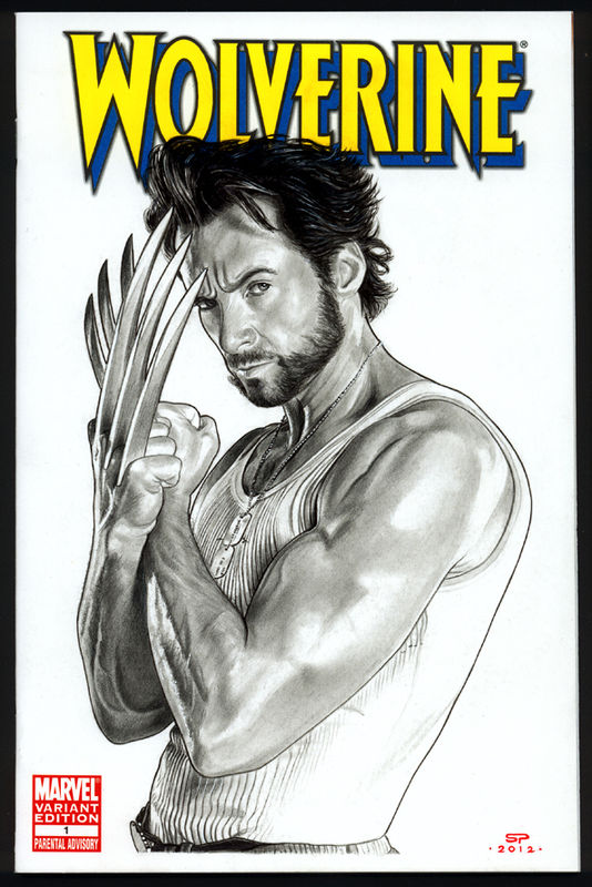 WOLVERINE Sketch Cover II by S-von-P
