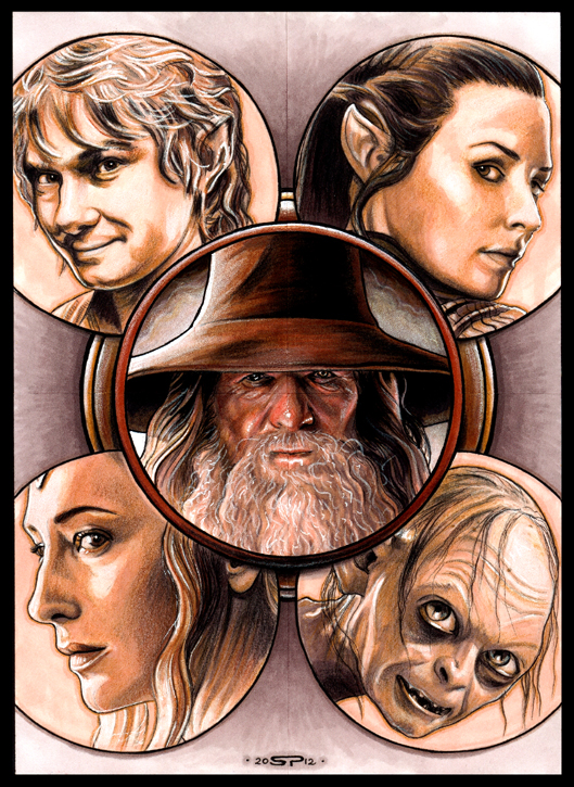 THE HOBBIT by S-von-P