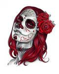 Dia de los Muertos - Sketch A