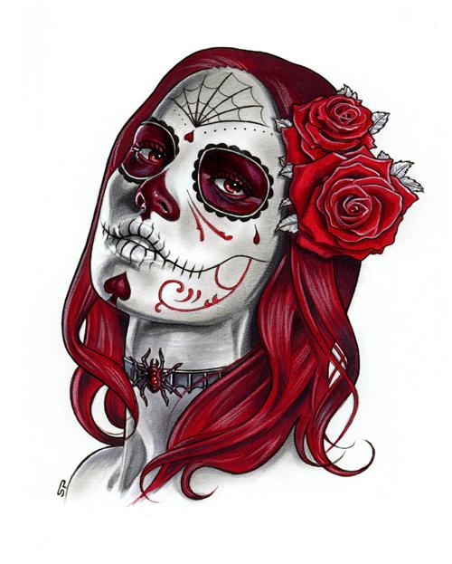 Dia de los Muertos - Sketch A by S-von-P