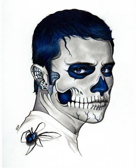 Dia de los Muertos - Sketch B by S-von-P