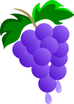 Grapes and Juice Cutie Mark