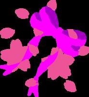 Sakura Bow Cutie Mark by Kinnichi