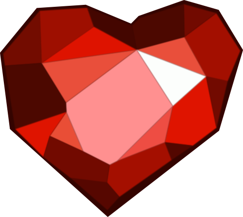 Ruby Heart Cutie Mark