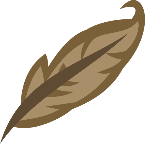 Brown Feather Cutie Mark