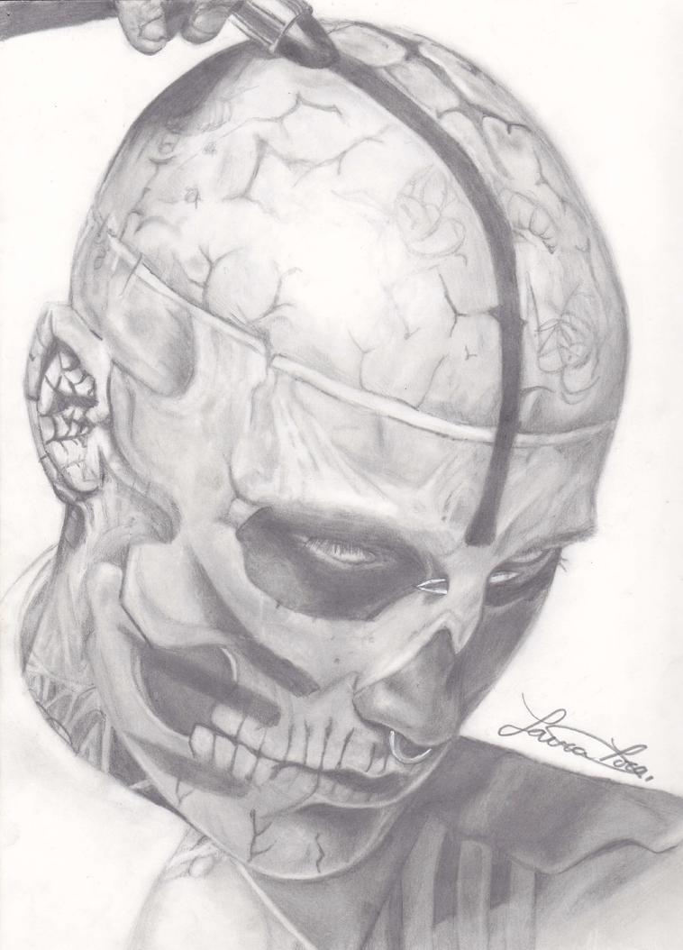 Rick Genest: Zombie Boy by xToro