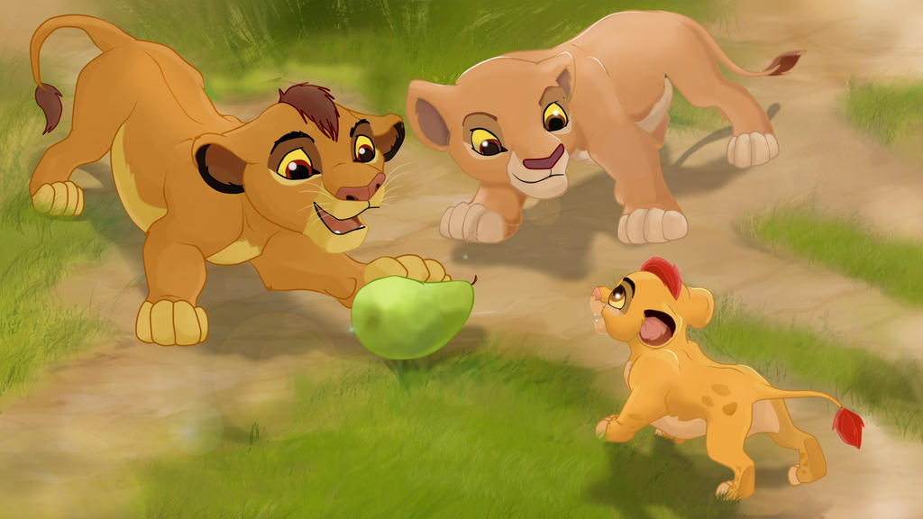 Kopa kion and kiara by alenaorangefox on deviantart - Kion le roi lion ...