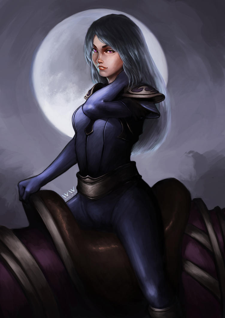 Luna - Dota 2 by leonwoon