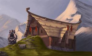 Environment Design - Mountain Village