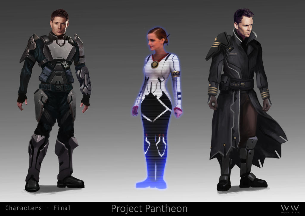 Character Concepts - Project Pantheon by leonwoon