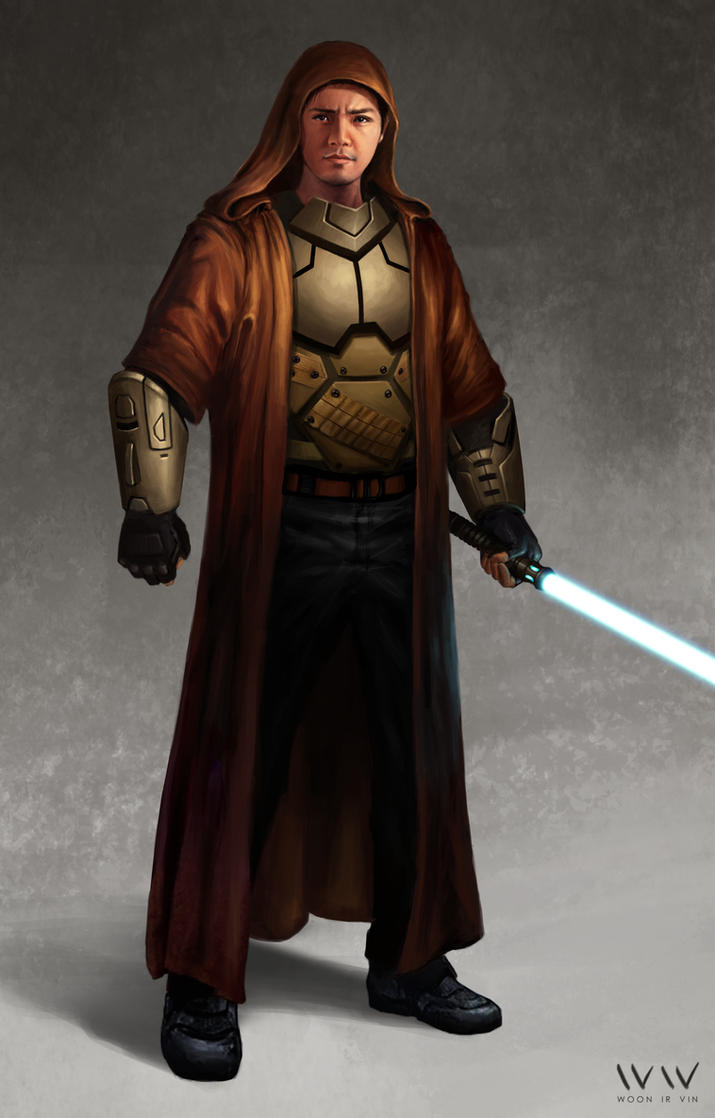 Old Republic Armored Jedi Cosplay Concept by leonwoon