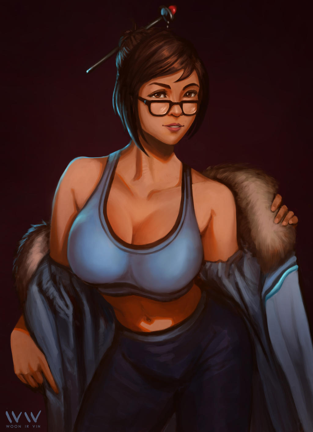 Overwatch - Mei by leonwoon