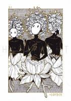 Masquerade of Sorrows II - Sonder by HariamArt