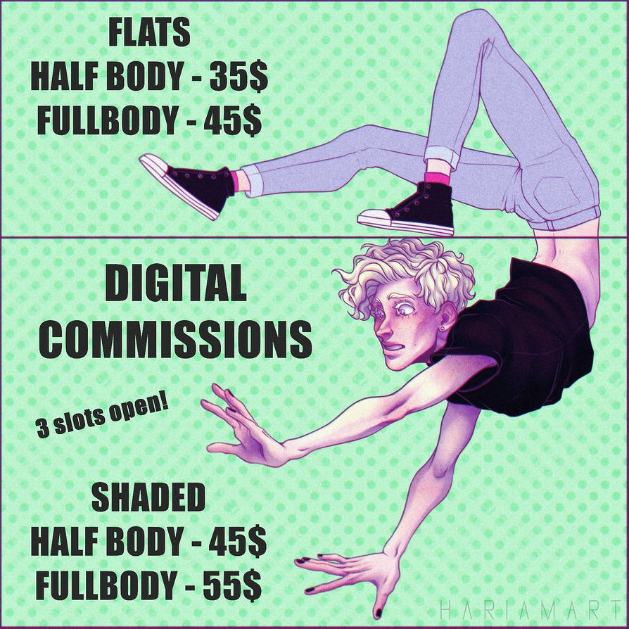 DISCOUNT COMMISSIONS OPEN! (2 SLOTS AVAILABLE)