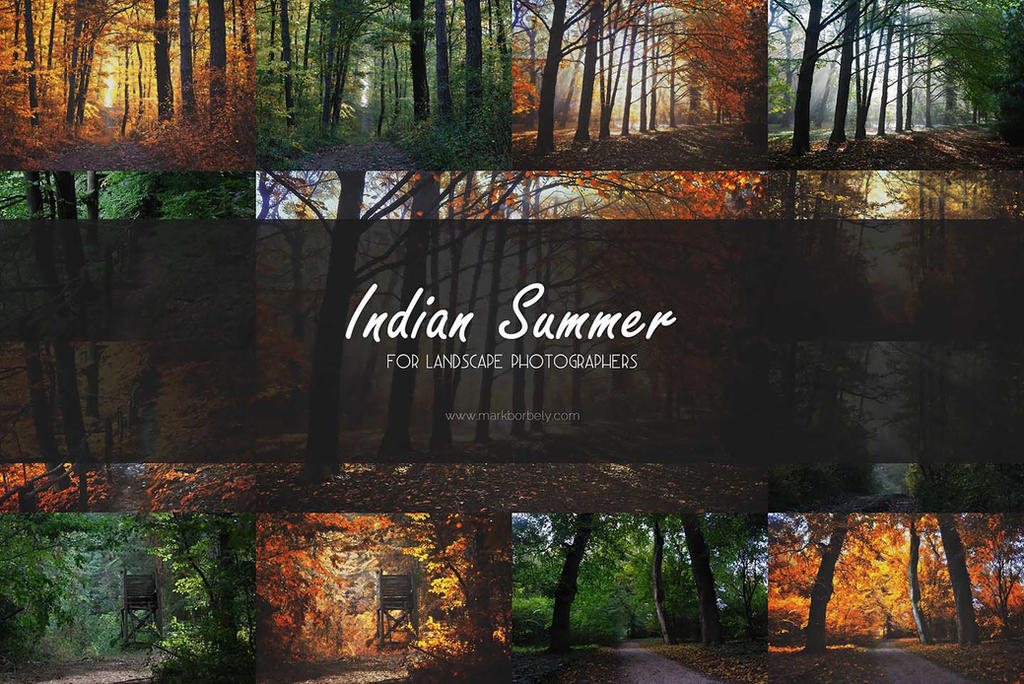 Indian Summer Action Cover by markborbely