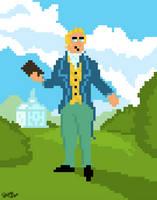 joseph smith pixel art by Spungecore-Loonatik