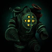 Bioshock: Big Daddy by LuciferZillyhoo