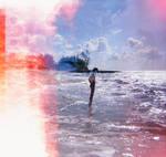 Exposed Diana F+ Beach Shot