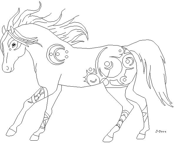 stallion linesjdove on deviantart
