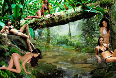 Dangerous Jungle by J-Dove