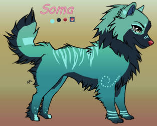 Soma puppy by J-Dove